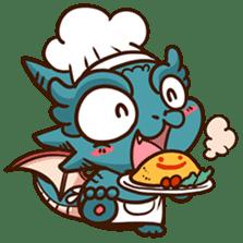 Drakosaurus sticker #6607247
