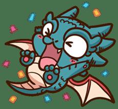 Drakosaurus sticker #6607250