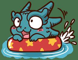 Drakosaurus sticker #6607255