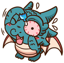 Drakosaurus sticker #6607258