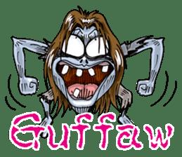 Sticker of zombie 2 sticker #6611122