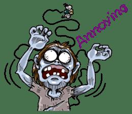 Sticker of zombie 2 sticker #6611139
