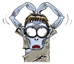 Sticker of zombie 2 sticker #6611140