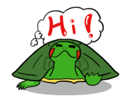 Hey~Turtle turtle! sticker #6614794
