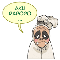 Mr. Pocong sticker #6616984