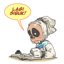 Mr. Pocong sticker #6617001