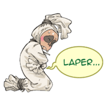 Mr. Pocong sticker #6617002