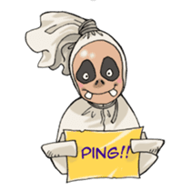 Mr. Pocong sticker #6617013