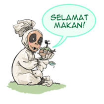 Mr. Pocong sticker #6617015