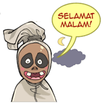 Mr. Pocong sticker #6617016