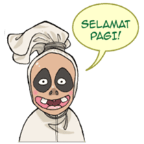 Mr. Pocong sticker #6617017