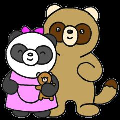 Paomi-chan and Bataro