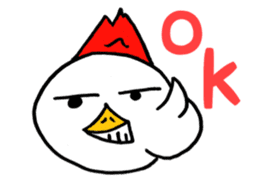 Chicken555 sticker #6626668