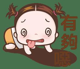 Little Nurse Girl sticker #6632223