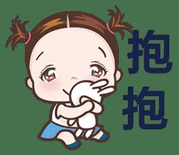 Little Nurse Girl sticker #6632227