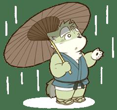 The Spicy Ninja Scrolls Sticker sticker #6640343