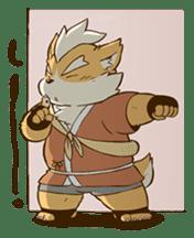 The Spicy Ninja Scrolls Sticker sticker #6640353