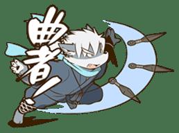 The Spicy Ninja Scrolls Sticker sticker #6640365