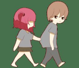 Weirdo Couple sticker #6646325