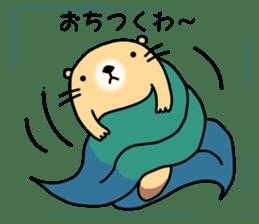 The Fat Sea Otter sticker #6646976