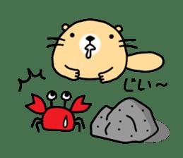 The Fat Sea Otter sticker #6646977