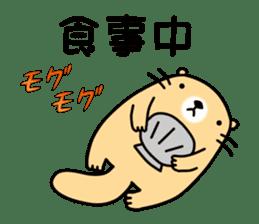 The Fat Sea Otter sticker #6646979