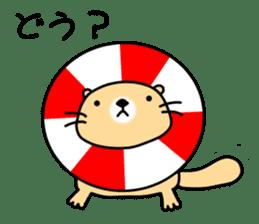 The Fat Sea Otter sticker #6646981
