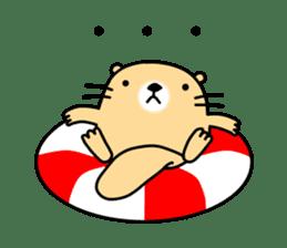 The Fat Sea Otter sticker #6646982