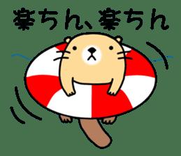 The Fat Sea Otter sticker #6646983