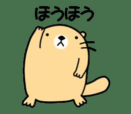 The Fat Sea Otter sticker #6646993