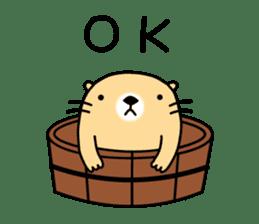 The Fat Sea Otter sticker #6647002