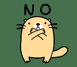 The Fat Sea Otter sticker #6647003