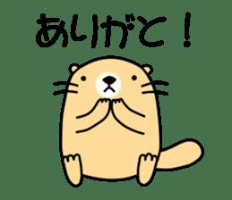 The Fat Sea Otter sticker #6647004