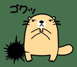 The Fat Sea Otter sticker #6647008