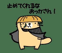 The Fat Sea Otter sticker #6647012