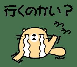 The Fat Sea Otter sticker #6647013