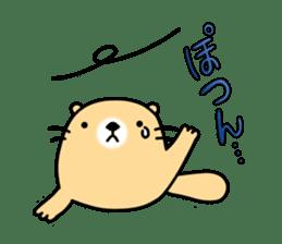 The Fat Sea Otter sticker #6647015