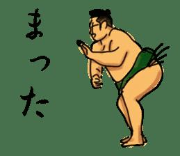 SUMO TIME sticker #6647590