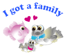 Story of love(family,couple use) sticker #6647972