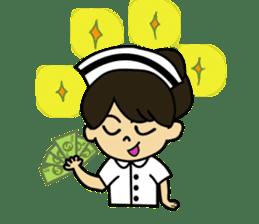 DowjaiNurse sticker #6652688