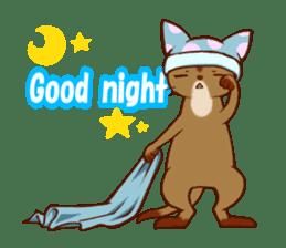 CAT-Abyssinian sticker #6658289