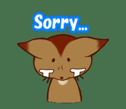 CAT-Abyssinian sticker #6658301