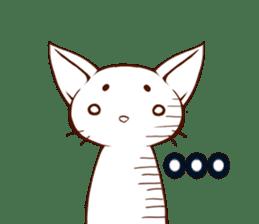 CAT-Abyssinian sticker #6658302