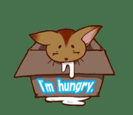 CAT-Abyssinian sticker #6658304