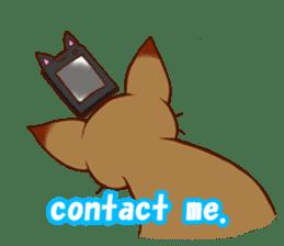CAT-Abyssinian sticker #6658320