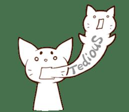 CAT-Abyssinian sticker #6658322