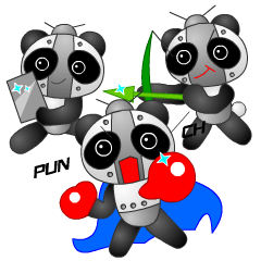 Mechanic Panda Robot (Digging)