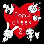 สติ๊กเกอร์ไลน์ Pomucheek2