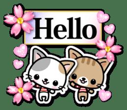 Japanese Style Cat Sticker ( English ) sticker #6669776