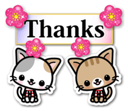 Japanese Style Cat Sticker ( English ) sticker #6669781